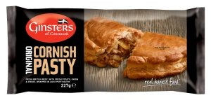 Ginsters Cornish Pasty