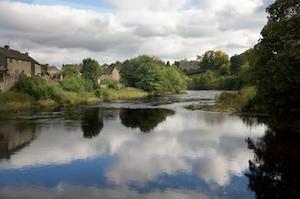 The River Tees runs through Barnard Castle, Co Durham