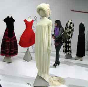 Yohji Yamamoto retrospective exhibition at V&A 2011