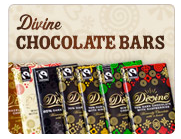 Divine Chocolate bars