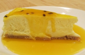 Irresistible Passion Fruit Cheesecake