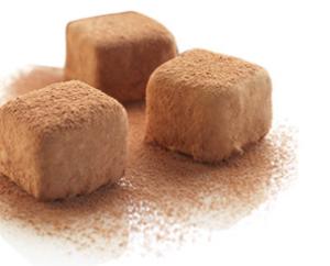 Organic Champagne Truffles