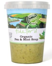 Tideford Organics Pea & Mint Soup