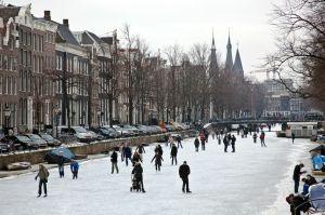 Keizersgracht winter, Edwin van Eis