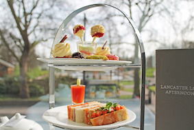 Tomato Week afternoon tea at Lancaster, London